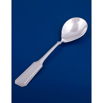 Серебряная ложка для салата №15