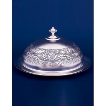 Серебряная масленка №19