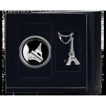 Серебряный набор  - Эйфелева башня