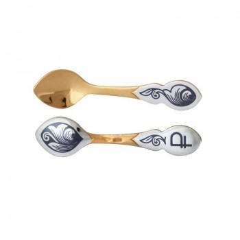Серебряный сувенир  Ложка-загребушка