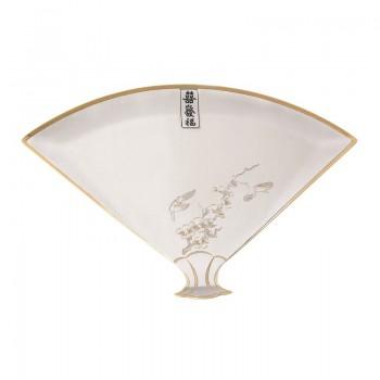 Серебряная тарелка  Сакура