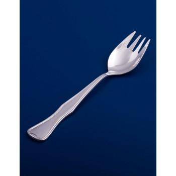 Серебряная вилка для пирожного №14